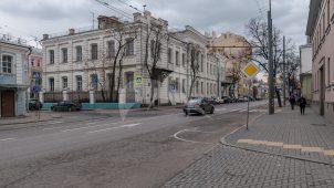Учебный корпус, 1878 г., комплекс Александро-Мариинского училища, конец XIX в., арх. А.С. Каминский