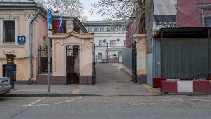 Ограда с воротами, городская усадьба XIX в.
