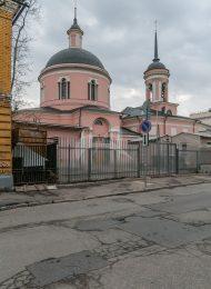 Церковь Иверской Божьей Матери, 1798-1842 гг.