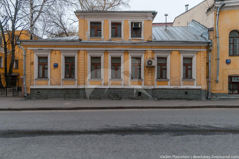 Главный дом городской усадьбы, XVIII — 1-я половина XIX вв.