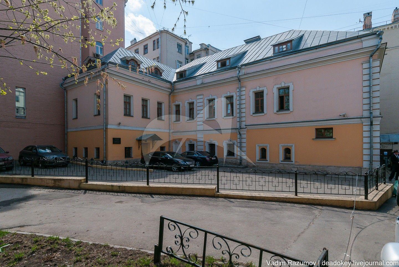 Дом, начало XVIII в., с палатами XVII в.