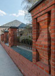 Ограда XIX в., ансамбль Третьяковской галереи