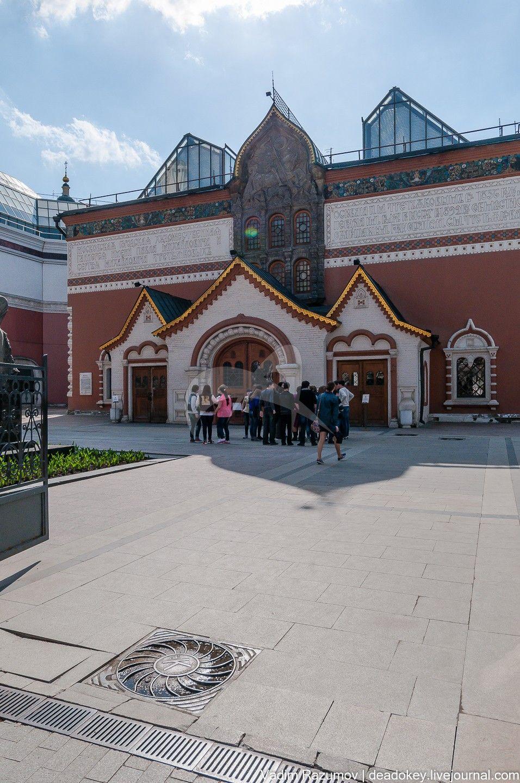 Здание Третьяковской галереи, 1902-1904 гг., арх. В.Н. Башкиров, худ. В.М. Васнецов