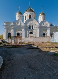 Собор Преображения Господня, 1889-1894 гг., под рук. арх. В.О. Грудзина, Никитский монастырь