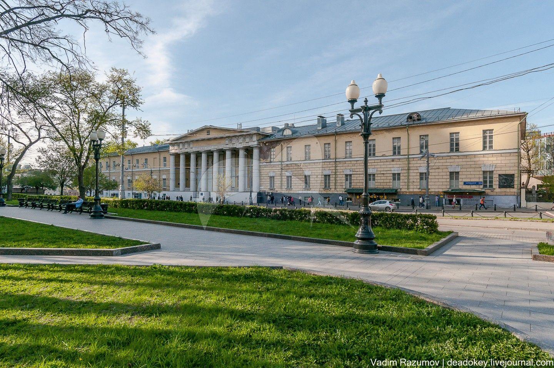 Вдовий дом, 1820-1823 гг., арх. Д.И. Жилярди