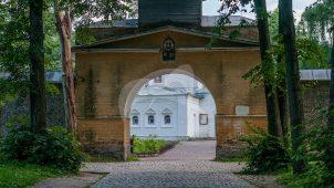Святые ворота, 1824 г., ансамбль усадьбы Архангельское