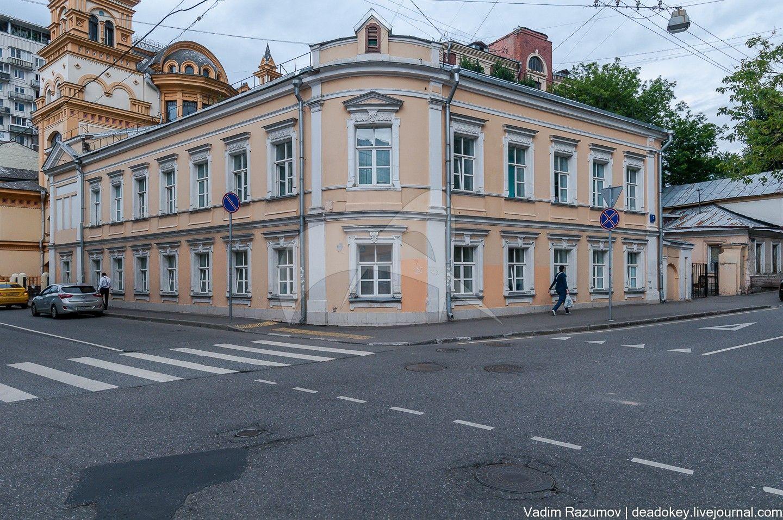 Главный дом, 1780-1792 гг., арх. В.В. Шервуд, городская усадьба Хлудовых