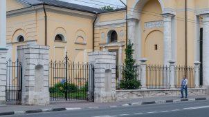 Ограда, XVIII-XIX вв., церковь Успения в Казачьей слободе