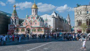 Фундаменты (основание) Казанского собора на Красной площади, 1-я четверть XVII в.