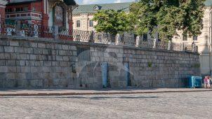 Подпорная стена, 1817 г., Покровский собор на рву (собор Василия Блаженного)