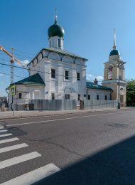 Церковь Максима Исповедника, 1698 г. Колокольня, 1829 г.