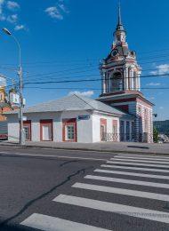 Колокольня, 1784-1789 гг., Старый Государев двор (Знаменский монастырь)