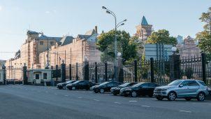 Здание Политехнического музея, в котором в 1918 году В.И. Ленин неоднократно выступал на заседаниях и на пленумах Московского Совета и митингах трудящихся