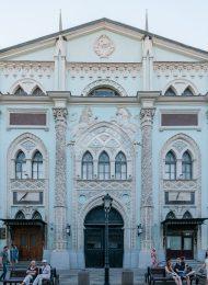 Печатный двор, где в 1564 г. была напечатана первая датированная русская книга («Правильная палата»)