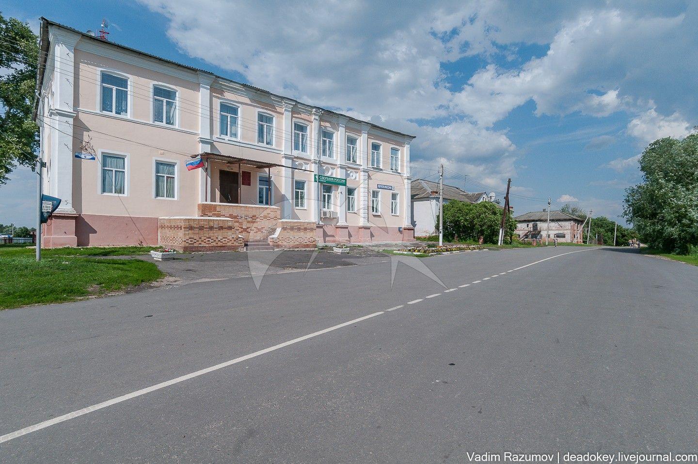 Главный дом усадьбы Толстых, середина XIX в.