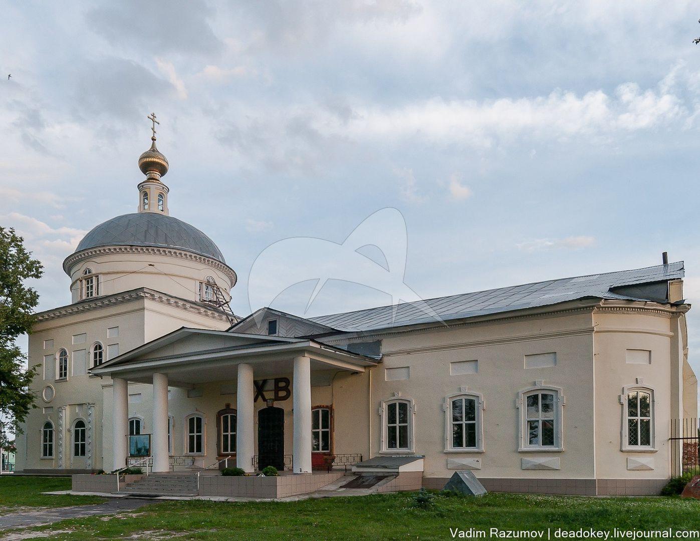 Преображенская церковь, 1795-1798 гг.