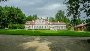 Главный дом, конец XVIII в., 1797 г. (мезонин), усадьба Абрамцево, ХVIII-ХIХ вв.