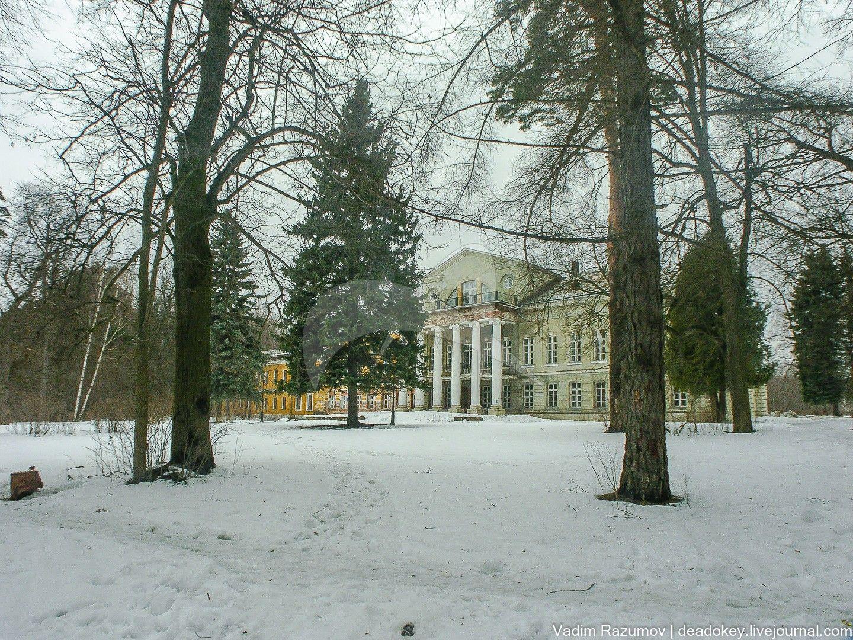 Главный дом, усадьба Суханово, ХIХ в.