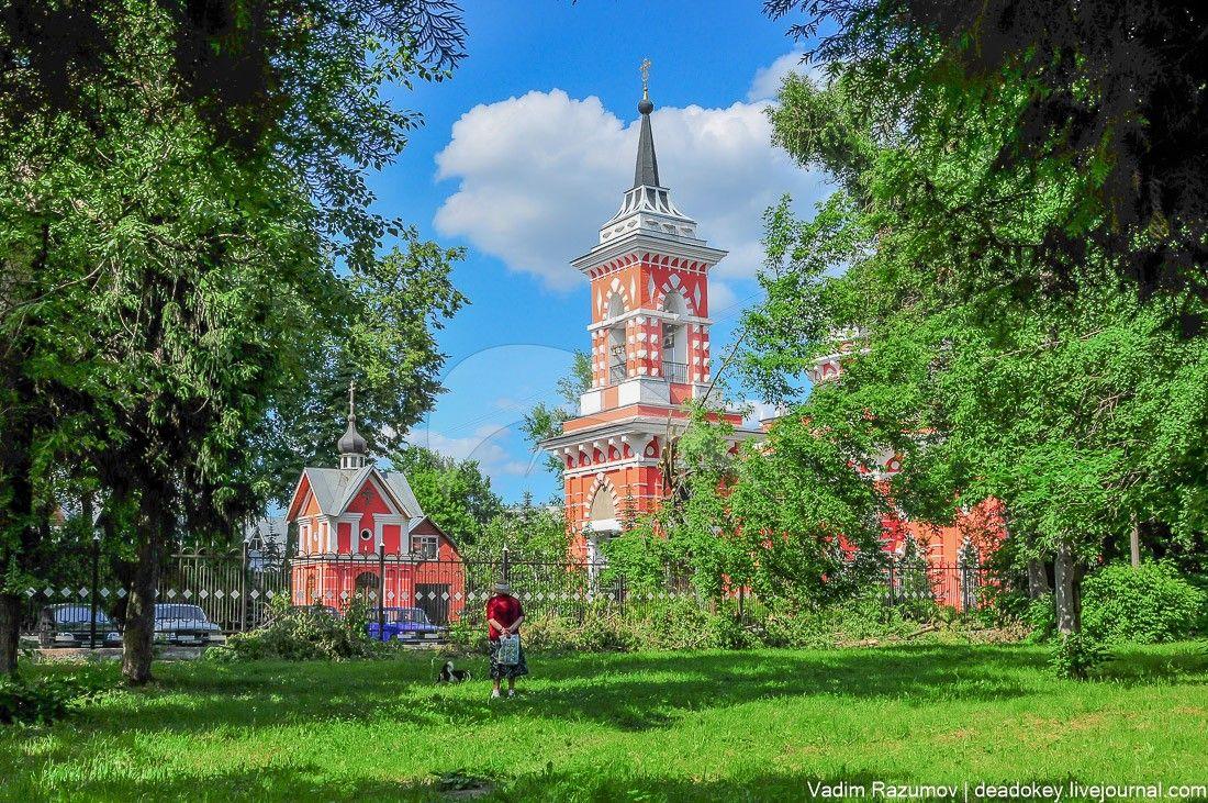 Смоленская церковь, 1807 г., арх. А.Н. Бакарев