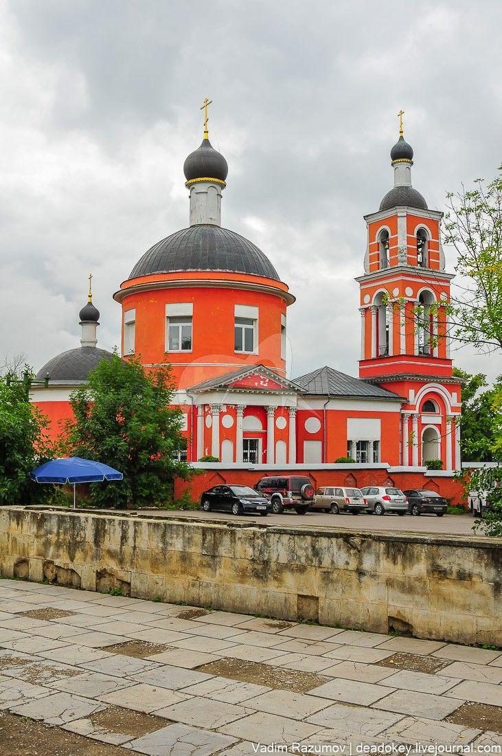 Церковь Петра и Павла, конец ХVIII века усадьбы «Петровское»