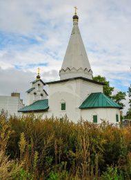 Никольская церковь, ХVII века усадьбы «Петровское»