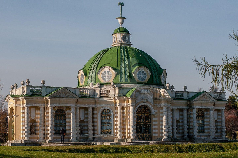 Павильон «Грот», ансамбль усадьбы «Кусково» (Шереметьевых), XVIII в.
