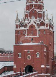 Троицкая башня, ансамбль Московского Кремля