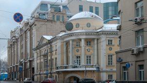 Дом Разумовского, XVIII в., школа арх. М.Ф.Казакова.