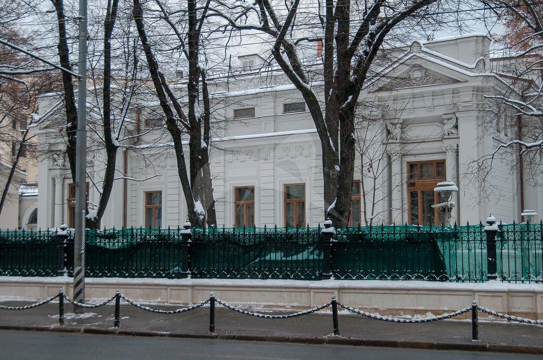 Главный дом усадьбы В.А. Морозовой, 1886 г., 1891 г., 1910-е гг., архитекторы  Р.И. Клейн, В.А. Мазырин