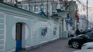 Белокаменные ворота, конец XVIII в., усадьба Воронцова-Дашкова