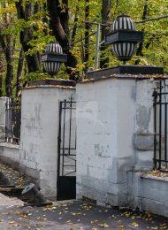 Ворота и решетка (ограды парка), усадьба Усачевых-Найденовых, 1829-1831 гг.