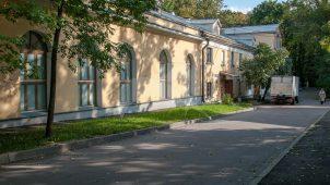 Конюшни и сараи, усадьба Усачевых-Найденовых, 1829-1831 гг.