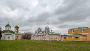 Сушильня и каретный сарай, Государственный музей керамики и усадьба «Кусково», XVIII (музейный комплекс)