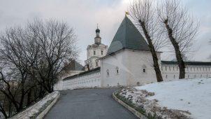 Башня юго-западная, Андронников монастырь