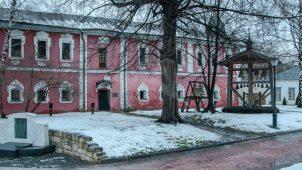 Братский корпус, XVII в., начало XVIII в., Андронников монастырь