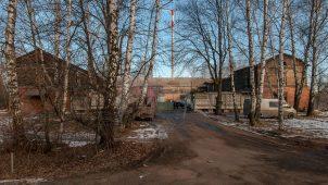 Скотный двор со складами, 1912 г., арх. И.В. Жолтовский, усадьба «Виноградово»