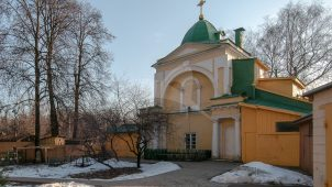 Часовня церкви Владимирской, 1772-1777 гг., усадьба «Виноградово»