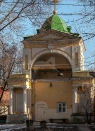 Звонница церкви Владимирской, 1772-1777 гг., усадьба «Виноградово»