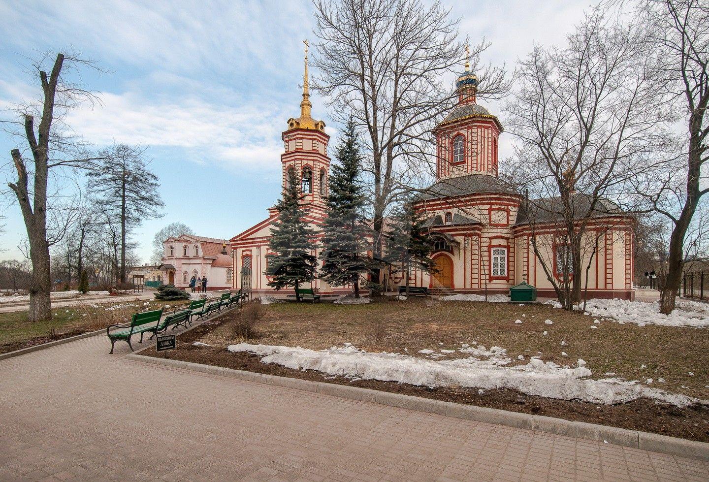 Церковь Крестовоздвиженская, 1750-1763 гг.