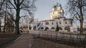 Церковь Казанской иконы Божией Матери, XVII в., усадьба «Коломенское»
