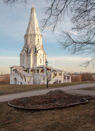 Церковь Вознесения, 1529-1532 гг., усадьба «Коломенское»