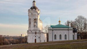 Колокольня «Храм вмч. Георгия Победоносца, нач. XVI в.», усадьба «Коломенское»