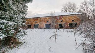 Каретный сарай, усадьба Гребнево, XVIII-ХIX вв.