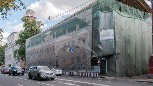Жилой дом Н.П. Баулина (в основе палаты XVIII в.), 1820-е гг., 1880-е гг., арх. Н.Д. Струков