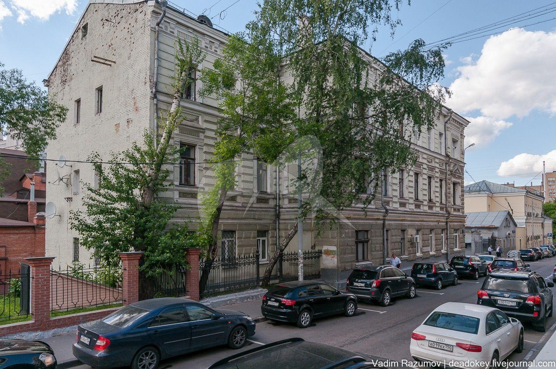 Жилой дом, 1882-1884 гг., арх. П.А. Дриттенпрейс, в основе – главный дом городской усадьбы XIX  в.