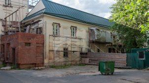 Флигель, ансамбль двух домов с двумя флигелями и воротами, начало XIX в.