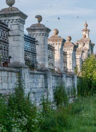 Ограда с воротами, церковь Казанская, XVII в.