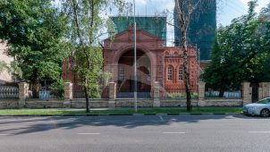 Церковь Василия Исповедника, что в Новой деревне, 1895-1897 гг., арх. А.П. Попов