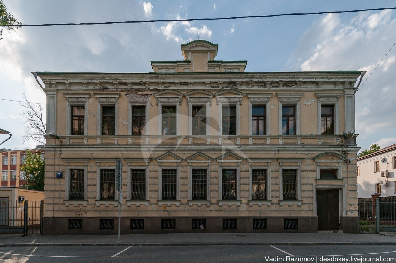 Главный дом, начало XIX в., 1888-1891 гг., арх. А.В. Петров, городская усадьба И.Л. Силкина