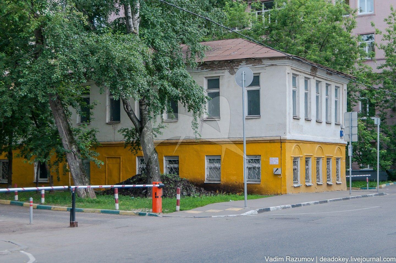 Дом, в котором родились и в 1850-1870-е гг. жили братья Сергей и Константин Коровины